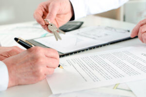 Заключение договора аренды и передаточного акта